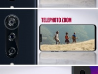 Промо-фото подтверждают принцип работы пяти камер LG V40 ThinQ