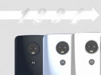 Motorola выпустит сразу четыре смартфона среднего класса