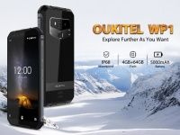 OUKITEL анонсировала новый защищенный смартфон WP1 с беспроводной зарядкой