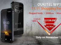 Распаковку смартфона Oukitel WP1 стоимостью $159.09 показали на видео