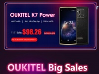 Планируете купить смартфон с большой батареей? - OUKITEL на распродаже 11.11 снижает цены до 50%