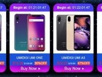 Скидка на смартфоны UMIDIGI до 50% и специальные цены на избранные модели