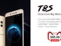 Leagoo T8s с 4ГБ ОЗУ можно купить за $89.09
