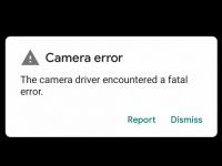 Камера Google Pixel 3 и Pixel 3 XL не работает даже после сброса настроек к заводским