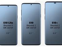 В экране Samsung Galaxy S10+ будет два выреза