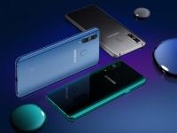 Объявлена цена смартфона Samsung Galaxy A8s с «дырявым» экраном