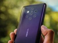 Очень качественное изображение смартфона Nokia 9 демонстрирует его пентакамеру во всей красе