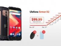 100-долларовый неубиваемый смартфон Ulefone Armor X2 получил модуль NFC и аккумулятор емкостью 5000 мАч