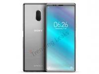 Изображения Xperia XZ4 демонстрируют новый дизайн смартфонов Sony