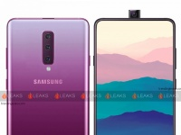 Появились первые изображения смартфона Samsung Galaxy A90, который оснащен выдвижной камерой