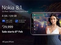 Nokia 8.1 с 6 ГБ ОЗУ и 128 ГБ флэш-памяти выйдет 6 февраля по цене $420