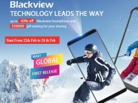 Распродажа Blackview на AliExpress на новые смартфоны до 43%