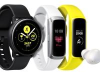 Samsung представила новые носимые устройства: Galaxy Watch Active, Galaxy Fit, Galaxy Buds