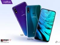 MWC 2019: Компания TP-Link официально представила флагманские смартфоны Neffos X20 и Neffos X20 Pro