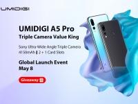 Убийца Redmi 7, UMIDIGI A5 Pro будет официально запущен 8 Мая