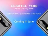 Утечка от OUKITEL: смартфон Y4800 с 48 Мпикс. камерой и процессором Helio P60