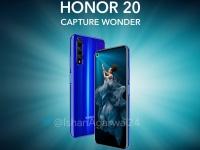 Ключевые характеристики Honor 20 вновь засветились на промо-фото