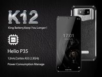 Oukitel K12 с батареей на 10000 мАч показал возможности в Antutu и играх