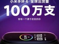 За восемь дней Xiaomi продала более 1 млн фитнес-браслетов Mi Band 4