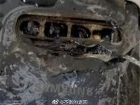 Samsung Galaxy S10 полностью сгорел во время зарядки