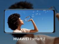 Huawei запускает в Украине смартфон с экраном без вырезов  Huawei P smart Z