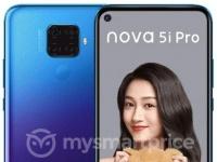 Рендеры Huawei Nova 5i Pro с Quad-камерой в трех цветах