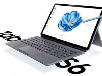 Флагманский планшет Samsung Galaxy Tab S6 с клавиатурой на рендере