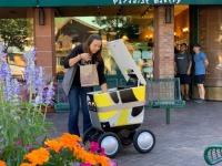 Сан-Франциско впервые выдал разрешение на тестирование робота для доставки продуктов