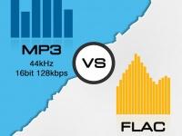 SMARTtech: FLAC vs MP3. FLAC лучше, чем MP3?