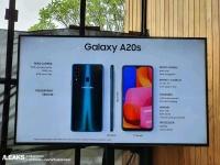 Чип Snapdragon 450 и четыре камеры: раскрыто оснащение смартфона Samsung Galaxy A20s