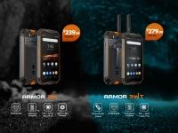 Стартовали глобальные предпродажи смартфонов повышенной прочности Ulefone Armor 3W и Armor 3WT