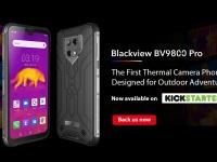 Blackview BV9800 с тепловизионной камерой и 48 Мпикс. камерой Sony IMX582 стартует на Kickstarter с $399