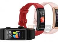 Рендер фитнес-браслета Huawei Band 4 Pro попал в Интернет