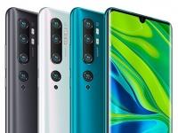 Европейская цена Xiaomi Mi Note 10 и Mi Note 10 Pro