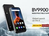 Защищенный Blackview BV9900 с 4 камерами и смарт-часы BV-SW02 будут представлены сегодня – 6 декабря