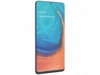 Смартфон Samsung Galaxy A71 позирует на пресс-рендере