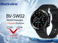 Мировая премьера смарт-часов Blackview BV-SW02 – минимально низкая цена в $39,99