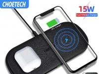 SMARTsale: Проводные и беспроводные зарядки от CHOETECH для смартфонов со скидками к Новому Году!