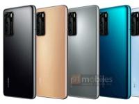 СЛИЛИ! Huawei P40 и P40 Pro во ВСЕХ цветах на пресс-рендерах