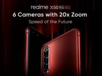 Realme X50 Pro на новом рендере: шесть камер, зум без рекордов