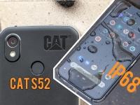А что он может на свои $600? Видео обзор смартфона CAT S52. Воды и грязи не боится!