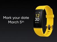 Новый фитнес-браслет Realme на официальном изображении