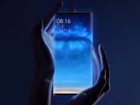 Смартфон Xiaomi Mi MIX 4 с дисплеем-оберткой предстал на концепт-рендерах