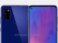 Рендеры смартфона Samsung Galaxy M51 говорят о наличии «дырявого» экрана