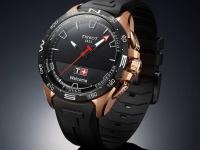 Tissot T-Touch Connect Solar — премиальные спортивные часы с большим экраном и полугодовой автономностью