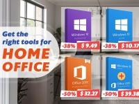 Нужно выполнять работу удаленно? Вам нужны правильные инструменты для домашнего офиса: MS Office Suite, Windows 10 уже за $9,49