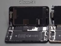 Внутренности iPhone SE 2020 сравнили с iPhone 8