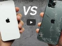iPhone SE 2020 низверг iPhone 11 Pro Max в тесте на прочность