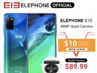 Elephone E10 - это самый доступный смартфон с мощной камерой по доступной цене $99,99!
