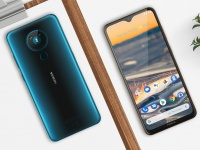 В Украине стартовали продажи Nokia 5.3 - смартфона с квадрокамерой, огромным 6.55 экраном и ценой 4 999 грн